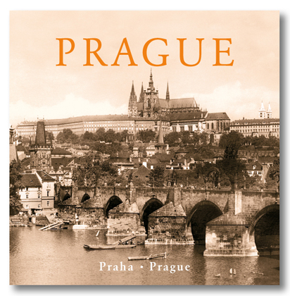 Kniha Prague historical Charles Bridge